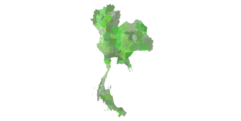 thailand shapefile – Revolutionary GIS