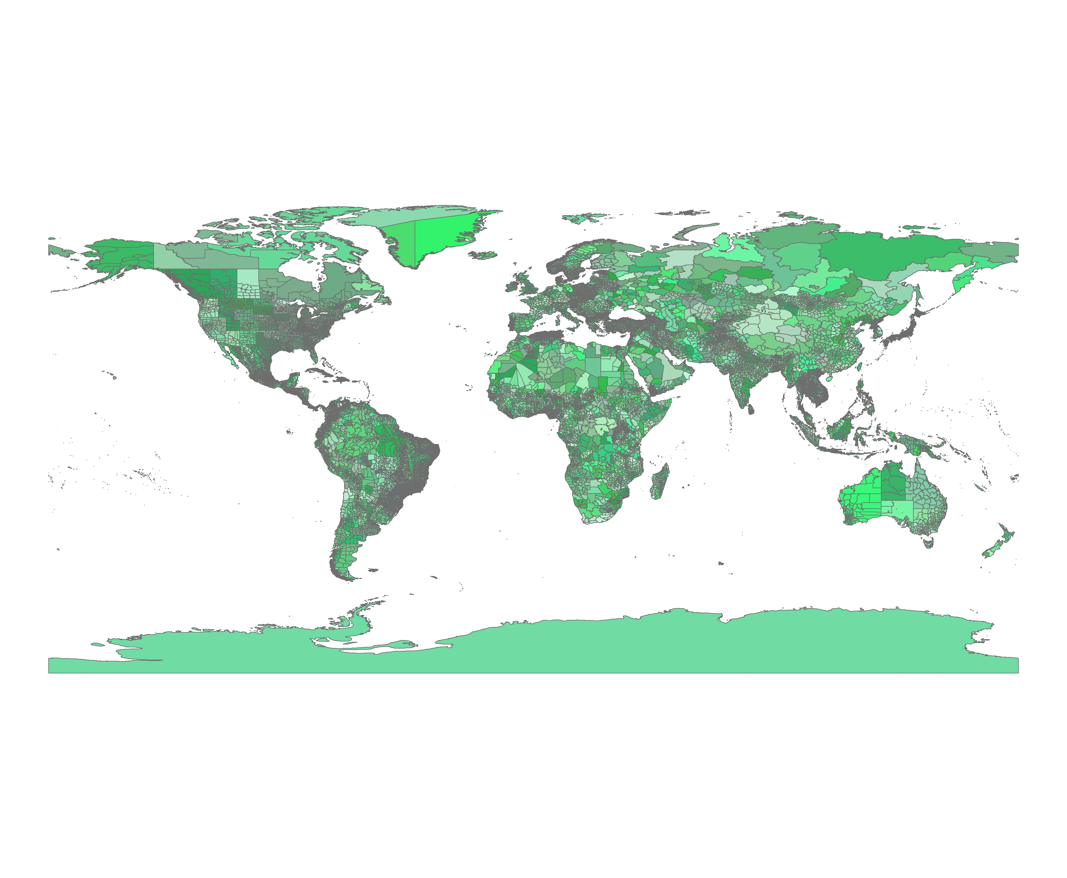 Gis World Map Shapefile