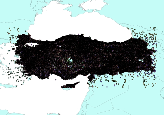 Turkey_Gazetteer