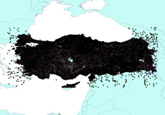 Turkey_Gazetteer