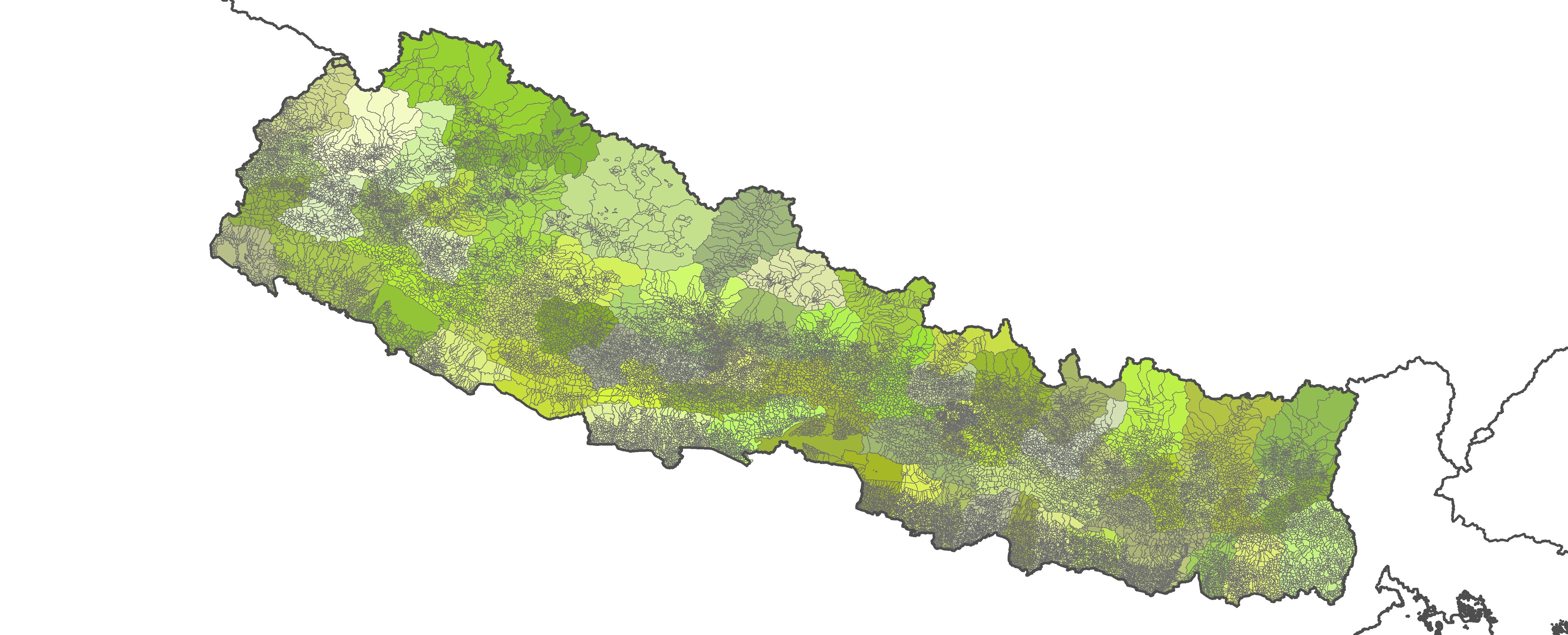 Nepal Shapefile – Revolutionary GIS