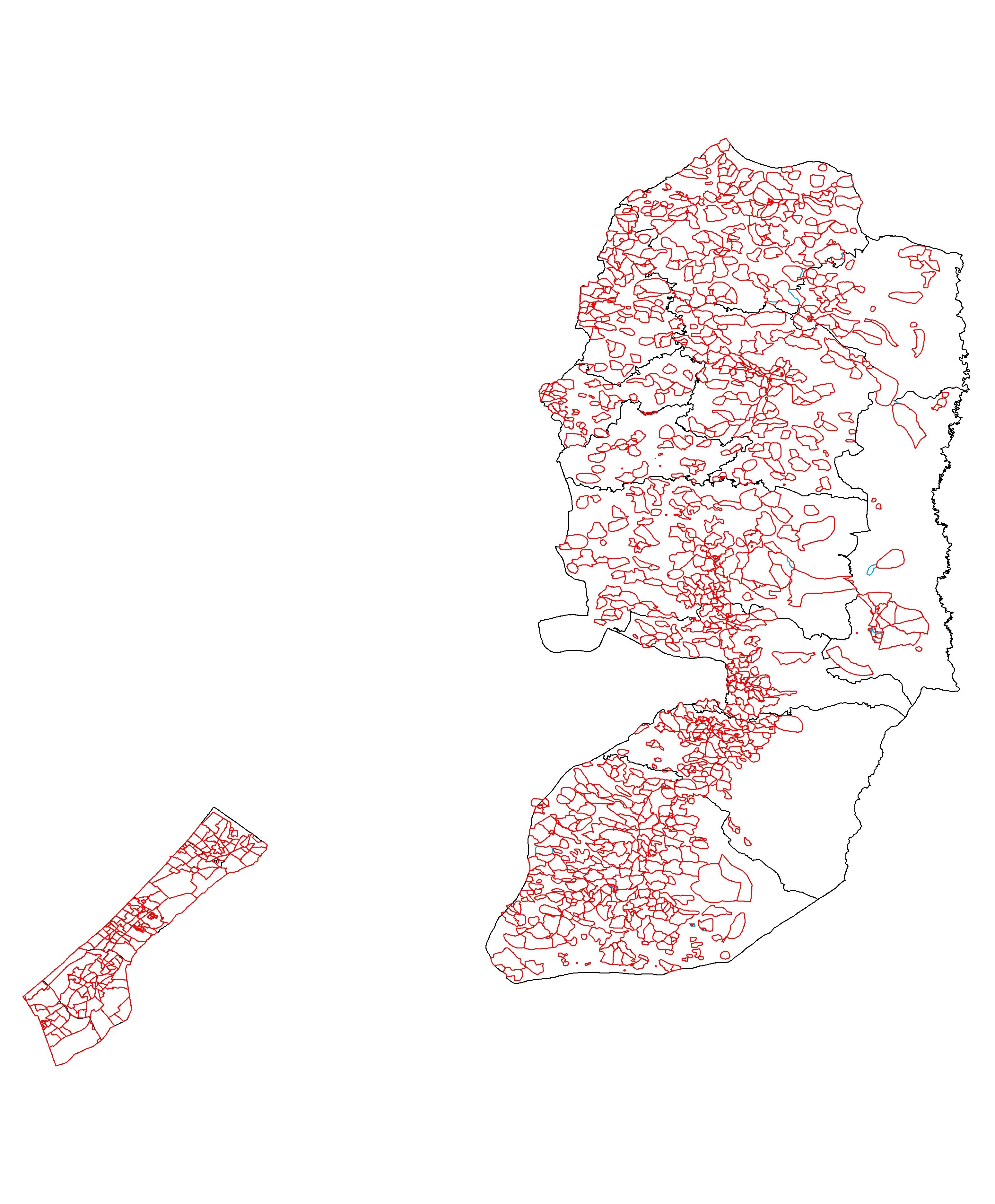 Palestine Census Shapefile Data!! – Revolutionary GIS